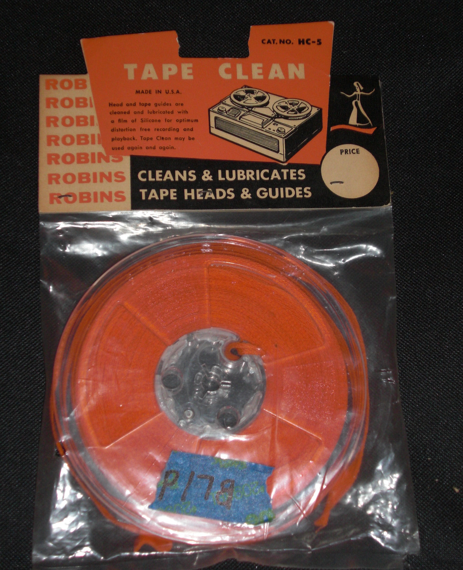 Robbins tape cleaner